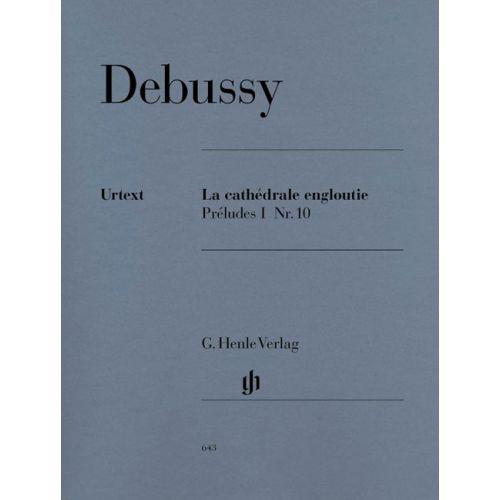 HENLE VERLAG DEBUSSY C. - LA CATHEDRALE ENGLOUTIE