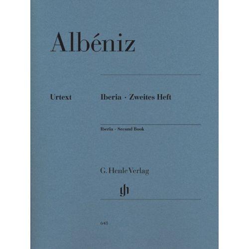 HENLE VERLAG ALBENIZ I. - IBERIA - SECOND BOOK
