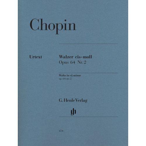 HENLE VERLAG CHOPIN F  - WALTZ C SHARP MINOR OP  64,2