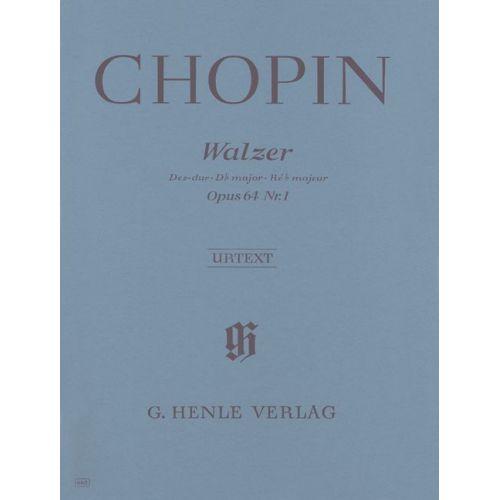 HENLE VERLAG CHOPIN F. - WALTZ D FLAT MAJOR OP. 64,1 [MINUTE]