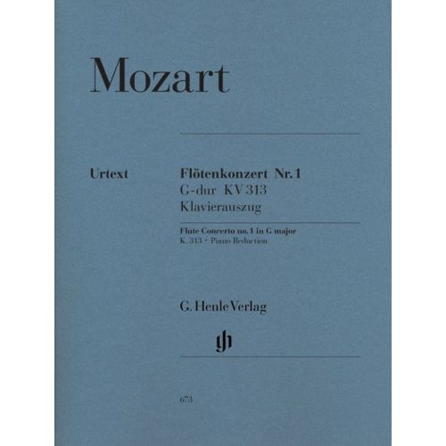 HENLE VERLAG MOZART W.A. - CONCERTO FOR FLUTE AND ORCHESTRA G MAJOR KV 313