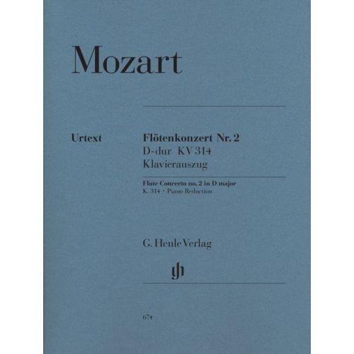 HENLE VERLAG MOZART W.A. - CONCERTO FOR FLUTE AND ORCHESTRA D MAJOR KV 314