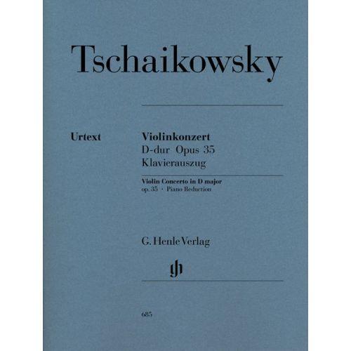 HENLE VERLAG TSCHAIKOWSKY P.I. - VIOLIN CONCERTO OP. 35