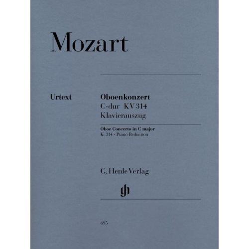 HENLE VERLAG MOZART W.A. - CONCERTO FOR OBOE AND ORCHESTRA C MAJOR K. 314