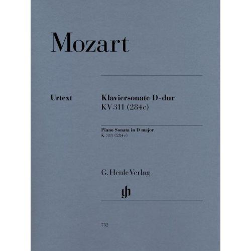 HENLE VERLAG MOZART W.A. - PIANO SONATA D MAJOR K. 311
