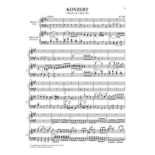 mozart piano concerto k 488 Klaus tennstedt conducts mozart & dvorak testament: sbt1446 buy cd online  mozart: piano concerto no23 in a k488- 1 allegro(babette hierholzer).