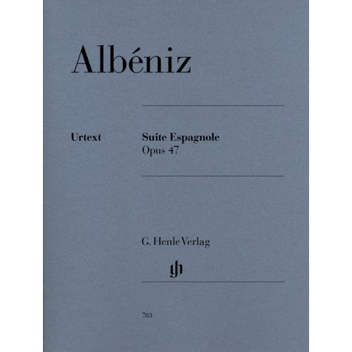 HENLE VERLAG ALBENIZ I. - PREMIERE SUITE ESPAGNOLE OP. 47