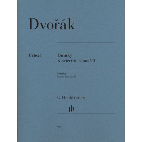 HENLE VERLAG DVORAK A. - DUMKY – TRIO FOR PIANO, VIOLIN AND VIOLONCELLO OP. 90