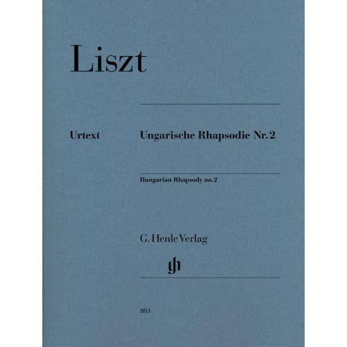 HENLE VERLAG LISZT F. - HUNGARIAN RHAPSODY NO. 2