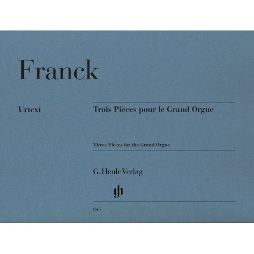 HENLE VERLAG FRANCK C. - THREE PIECES FOR THE GRAND ORGUE