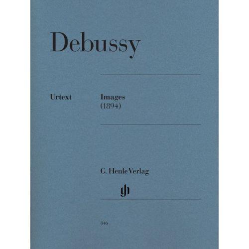 HENLE VERLAG DEBUSSY C. - IMAGES (1894)