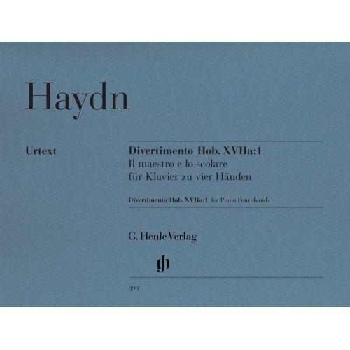 HENLE VERLAG HAYDN J. - DIVERTIMENTO IN F MAJOR HOB. XVIIA:1 – IL MAESTRO E LO SCOLARE