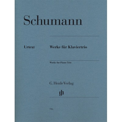 HENLE VERLAG SCHUMANN R. - PIANO TRIO AND FANTASY PIECES OP. 88