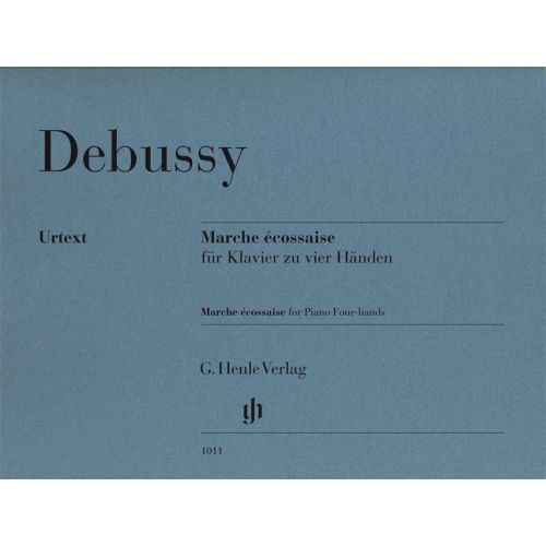 HENLE VERLAG DEBUSSY CLAUDE - MARCHE ECOSSAISE - PIANO 4 HANDS