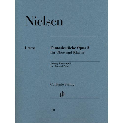 HENLE VERLAG NIELSEN C. - FANTASY PIECES OP.2 - HAUTBOIS & PIANO