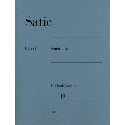 HENLE VERLAG SATIE ERIK - NOCTURNES