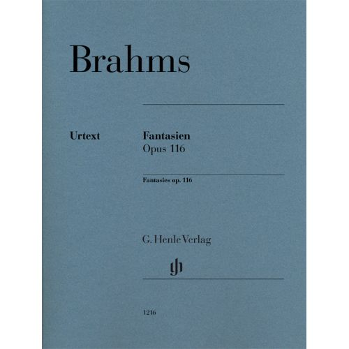 HENLE VERLAG BRAHMS JOHANNES - FANTAISIES OP.116 - PIANO