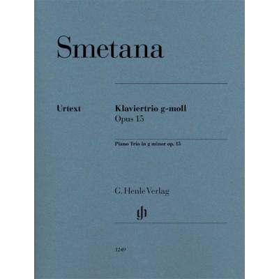 HENLE VERLAG SMETANA BEDRICH - PIANO TRIO IN G MINOR OP.15