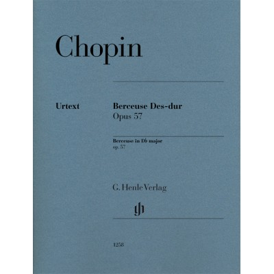 HENLE VERLAG CHOPIN F. - BERCEUSE EN RE BEMOL OP.57 - PIANO