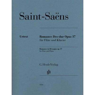 HENLE VERLAG SAINT-SAENS CAMILLE - ROMANCE OP.37 - FLUTE & PIANO