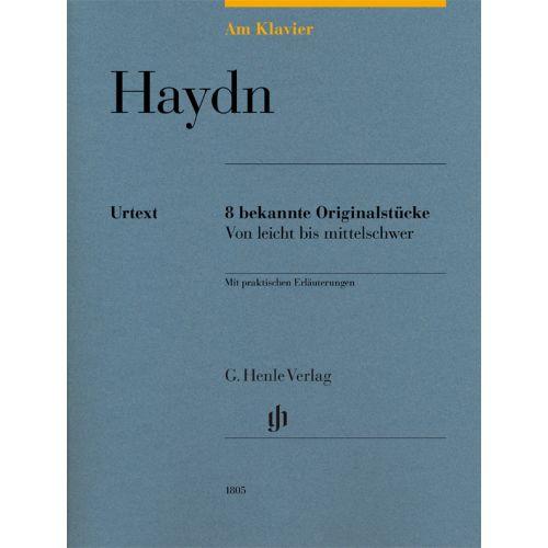 HENLE VERLAG HAYDN JOSEPH - 8 BEKANNTE ORIGINALSTUCKE