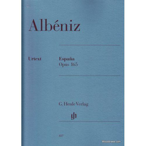 HENLE VERLAG ALBENIZ I. - ESPANA OP. 165 - PIANO