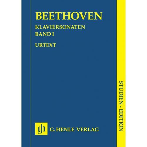 HENLE VERLAG BEETHOVEN L.V. - PIANO SONATAS, VOLUME I