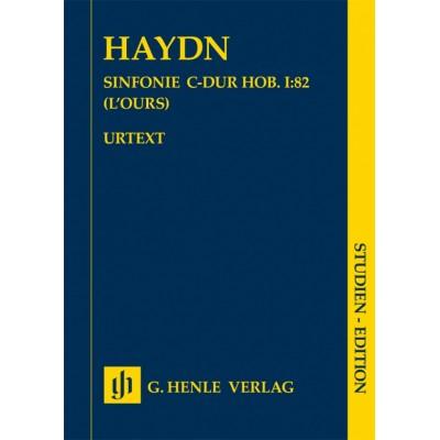 HENLE VERLAG HAYDN JOSEPH - SINFONIE C-DUR HOB. I:82
