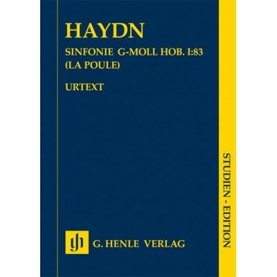 HENLE VERLAG HAYDN JOSEPH - SINFONIE G-MOLL HOB. I:83