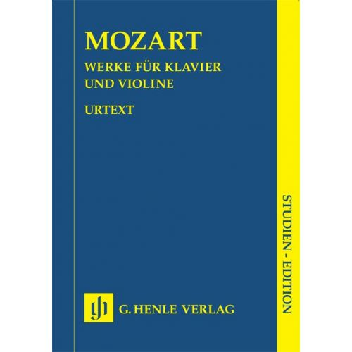 HENLE VERLAG MOZART W.A. - WORKS FOR PIANO AND VIOLIN