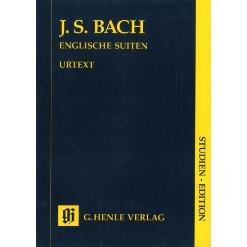 HENLE VERLAG BACH J.S. - ENGLISH SUITES BWV 806-811