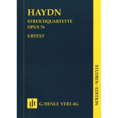 HENLE VERLAG HAYDN J. - STRING QUARTETS VOLUME X OP. 76 NR. 1-6