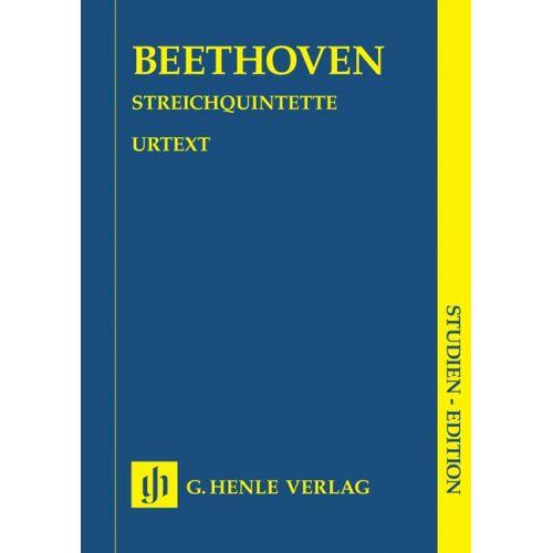 HENLE VERLAG BEETHOVEN L.V. - STRING QUINTETS