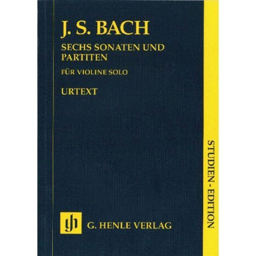 HENLE VERLAG BACH J.S. - SONATAS AND PARTITAS BWV 1001-1006 FOR VIOLIN SOLO (NOTATED AND ANNOTATED VERSION)