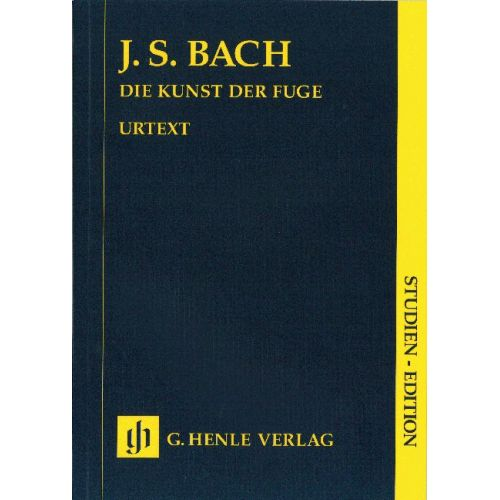 HENLE VERLAG BACH J.S. - ART OF THE FUGUE BWV 1080