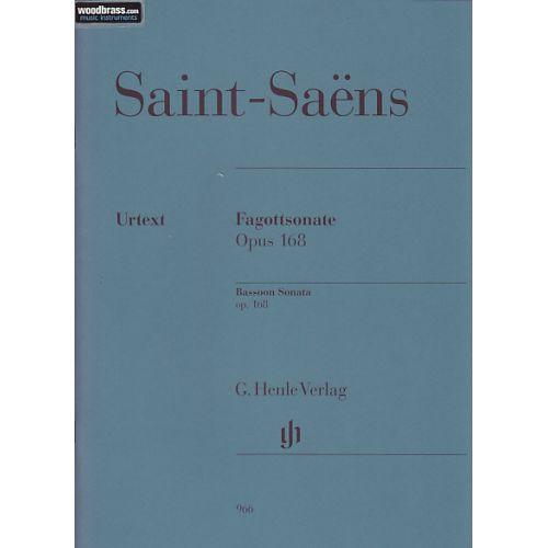HENLE VERLAG SAINT-SAËNS C. - BASSOON SONATA OP. 168