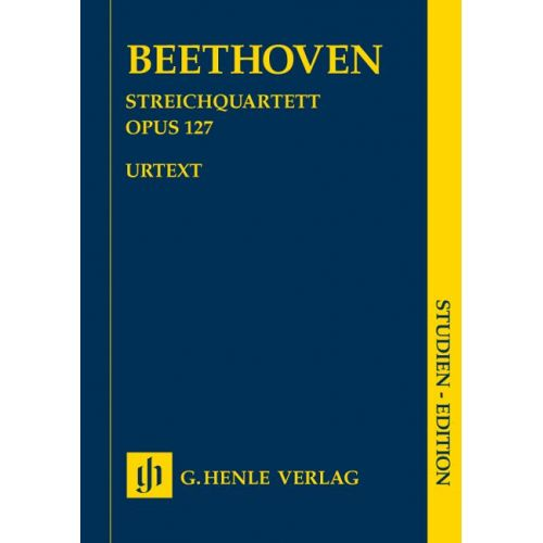 HENLE VERLAG BEETHOVEN L.V. - STRING QUARTET E FLAT MAJOR OP. 127