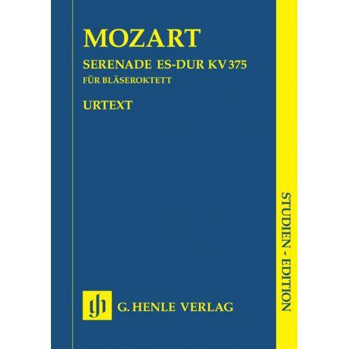 HENLE VERLAG MOZART W.A. - SERENADE IN EB MAJOR K. 375
