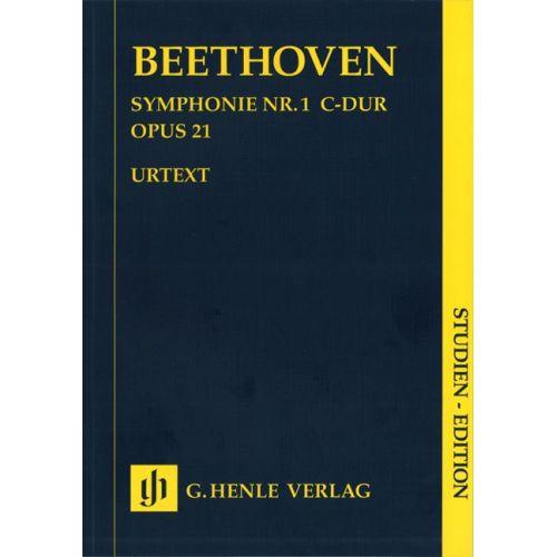 HENLE VERLAG BEETHOVEN L.V. - SYMPHONY NO. 1 C MAJOR OP. 21