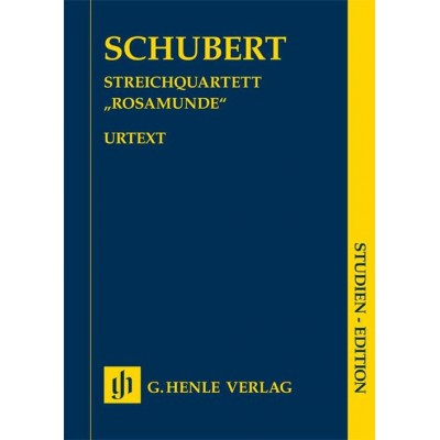 HENLE VERLAG SCHUBERT F. - STRING QUARTET A MINOR OP.29 D 804