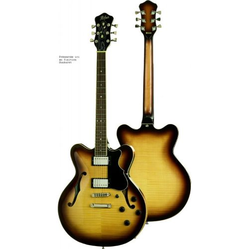 HOFNER VERYTHIN HCTVTHSB CONTEMPORARY SUNBURST