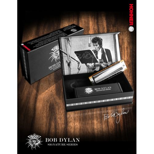 HOHNER BOB DYLAN SIGNATURE 10 TROUS C DO