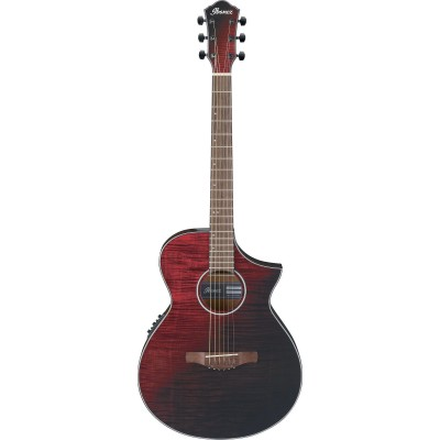 IBANEZ AEWC32FM-RSF RED SUNSET FADE HIGH GLOSS