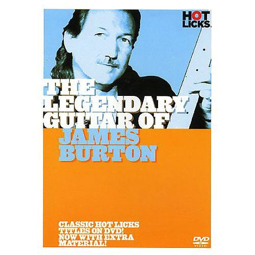 HAL LEONARD THE LEGENDARY GUITAR OF JAMES BURTON - DVD