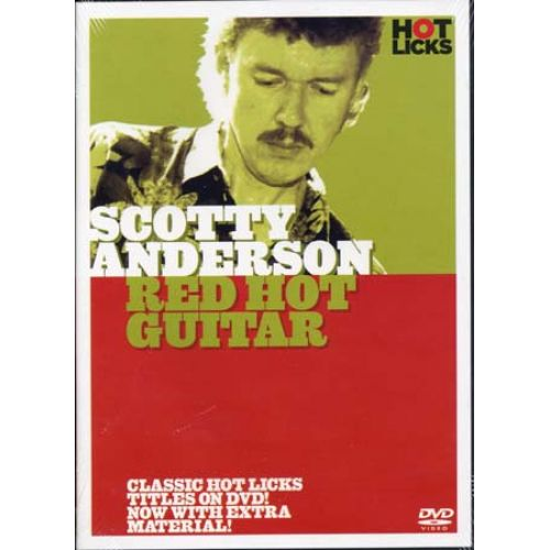 MUSIC SALES ANDERSON SCOTTY - RED HOT GUITAR