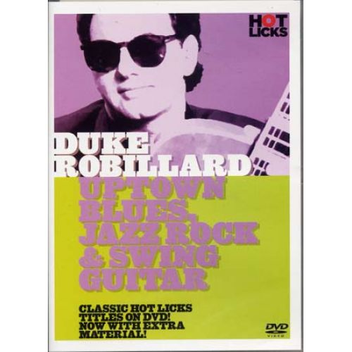 MUSIC SALES ROBILLARD DUKE - BLUES JAZZ ROCK & SWING - GUITARE