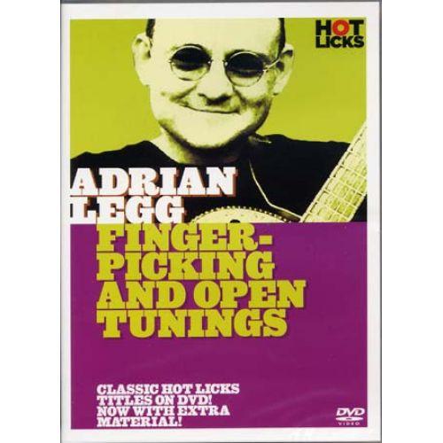 MUSIC SALES LEGG ADRIAN - FINGERPICKING & OPEN TUNINGS -GUITAR