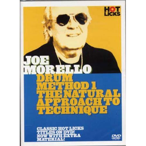 MUSIC SALES MORELLO JOE - DRUM METHOD 1