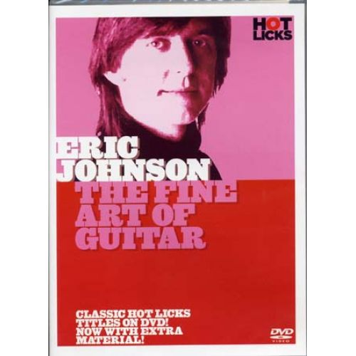 MUSIC SALES JOHNSON ERIC - FINE ART OF GUITAR