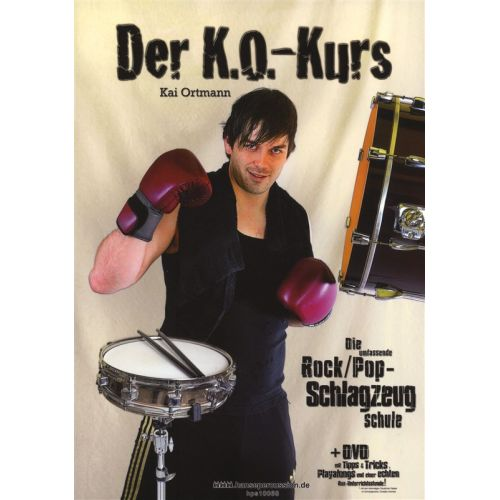 MUSIC SALES KAI ORTMANN - KAI ORTMANN - DER K.O.-KURS - DRUMS